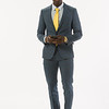 Fashion portfolio shoot for student Mohamet Mbaye at Buffalo State College.