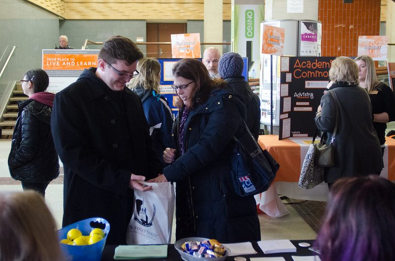 Buffalo State's Spring Open House.