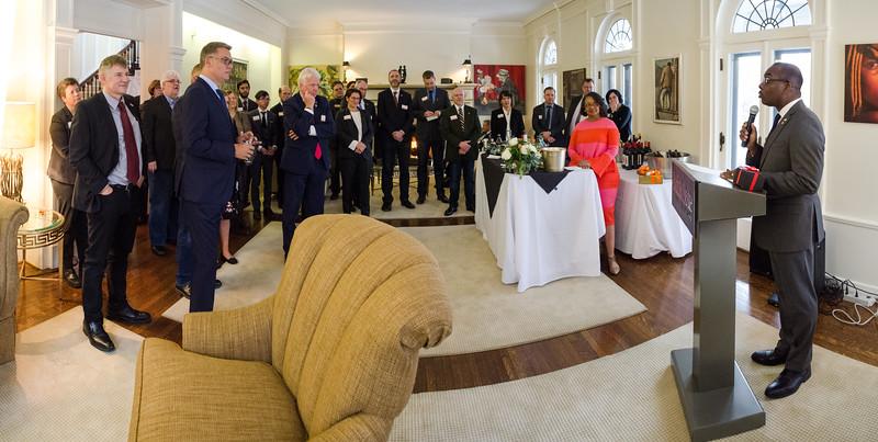Reception for the German delegation from Dortmund Germany.