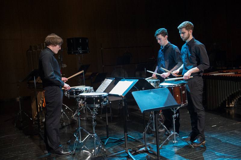 Percussion Ensemble performance at Buffalo State College.