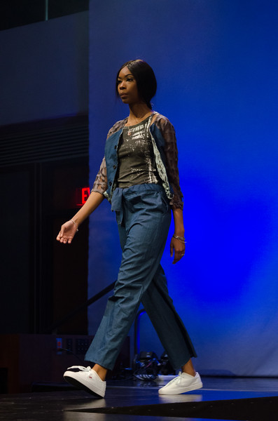 Fashion Technology Runway 11 interconnect  student fashion show at SUNY Buffalo State.
