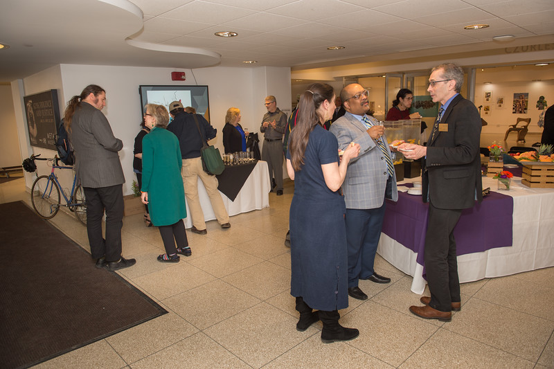 School of Arts and Humanities Contributors Celebration at Buffalo State College.