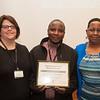 Career Development Center Internship Awards ceremony at Bufffalo State College.