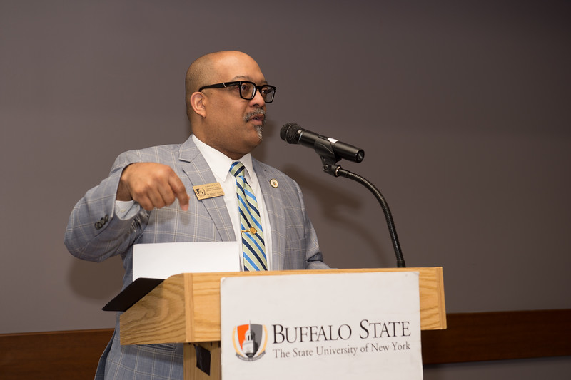 School of Arts and Humanities Dean's Award Ceremony at Buffalo State College.