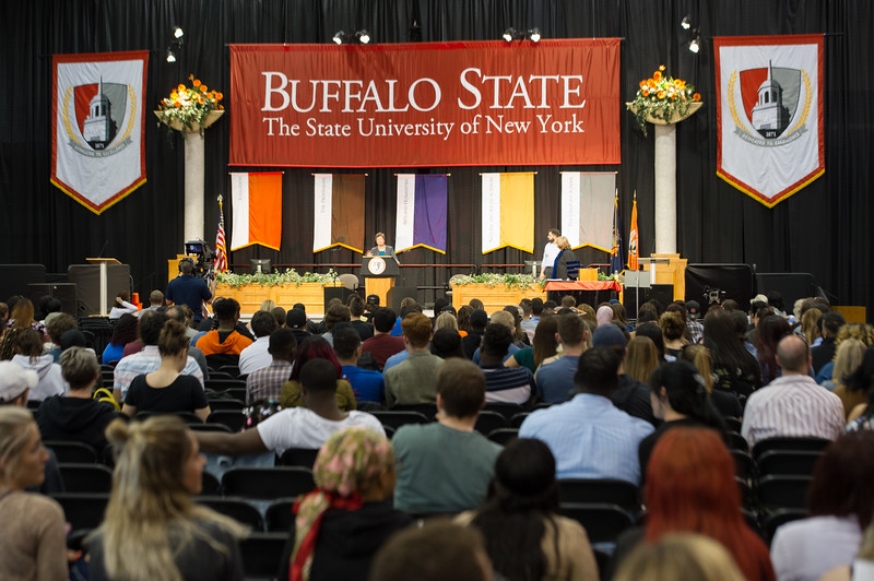 Baccalaureate Commencement Preview and Celebration at Buffalo State College.