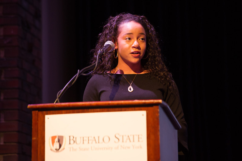 Muriel A. Howard All College Honors and Kenzie Scholars Lunch at Buffalo State College.