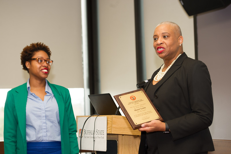 Equity and Campus Diversity Awards at Buffalo State College.