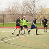 Buffalo State Men's alumni soccer game hled on Coyer Field.
