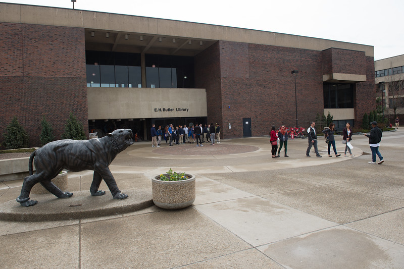 Campus tours at Buffalo State College.