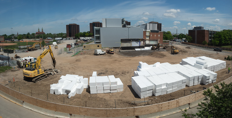 Third phase of the new Science Building at Buffalo State College.