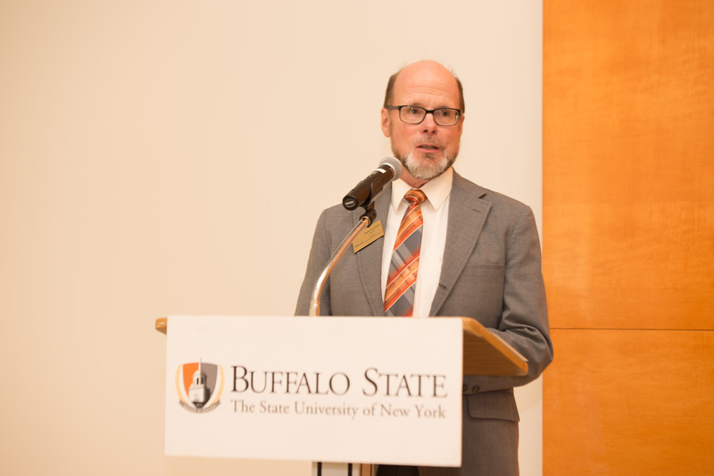Beery and Rustgi Naming Ceremony at Buffalo State College.