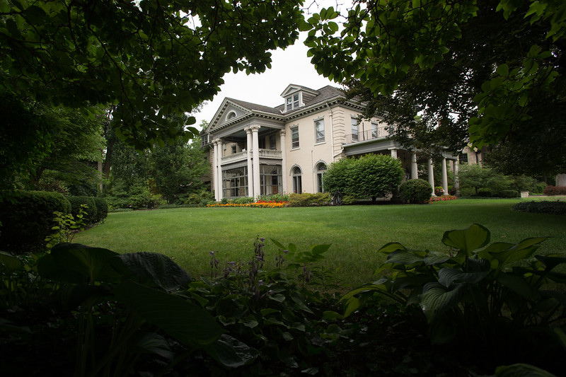 President's House at Buffalo State College.