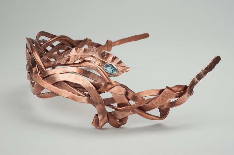 Jewelry Design student work at Buffalo State College.