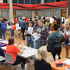 Professional Development Schools Consortium (PDS) Teacher Tailgate at Buffalo State College.