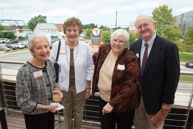 Peterson Society Luncheon in the Jacqueline Vito LoRusso Alumni and Visitor Center at Buffalo State College.