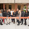 Ribbon cutting for the Jacqueline Vito LoRusso Alumni and Visitor Center at Buffalo State College.