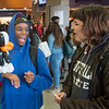 Homecoming Kick Off Event in Student Union lobby at SUNY Buffalo State College.