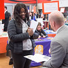 Career Development Center Graduate School Fair at SUNY Buffalo State College.