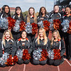 Pom-pom team at Homecoming football game vs. Union College at SUNY Buffalo State College.