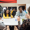 """""""Living Library"""" workshop  during the Anne Frank Project Social Justice Festival at SUNY Buffalo State."""