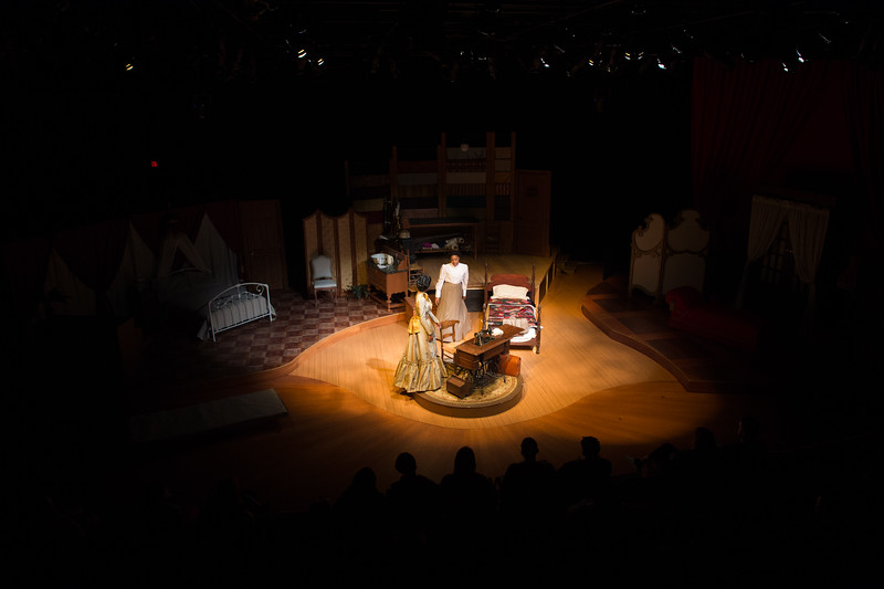 """Student theater production of """"Intimate Apparel"""" at SUNY Buffalo State College."""