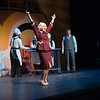 """Student theater production of """"The Drowsy Chaperone"""" at SUNY Buffalo State College."""