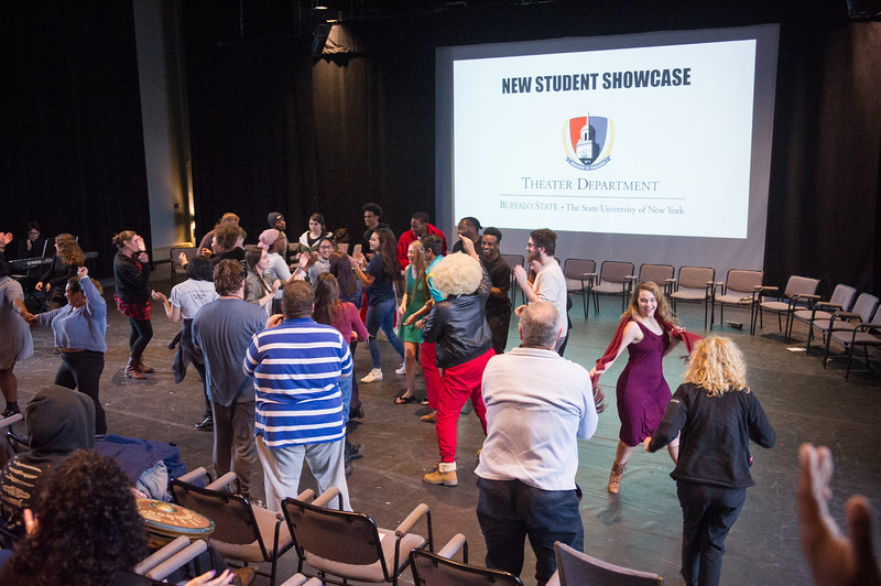Theater New Student Showcase at SUNY Buffalo State College.