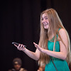 Theater student Summer Harris performing during the New Student Showcase at SUNY  Buffalo State College.