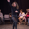 Theater student Halena Torres performing at the New Student Showcase at SUNY Buffalo State College.