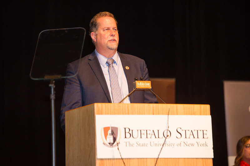 Faculty and Staff Recognition Ceremony at SUNY Buffalo State College.
