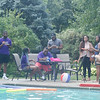 Bengal transition and experience team pool party.