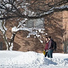 Winter campus scenic at Buffalo State College.