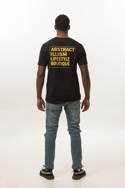 Fashion portfolio shoot for student Rashaad Holley at Buffalo State College.