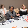 Women's leadership roundtable with Consul General of Canada, Phyllis Yaffe and NYS Lieutenant Governor, Kathy Hochul hosted at the Jacqueline Vito LoRusso Alumni and Vistor Center at Buffalo State College.