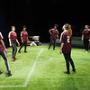 """Theater student production of """"The Wolves"""" at Buffalo State College."""