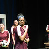 "Theater student production of ""The Wolves"" at Buffalo State College."