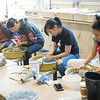 Art and Design Ceramics class at Buffalo State College.