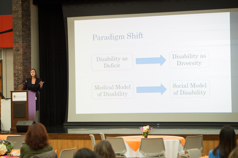 Accessibility: Designing Access for All Learners conference at Buffalo State College.