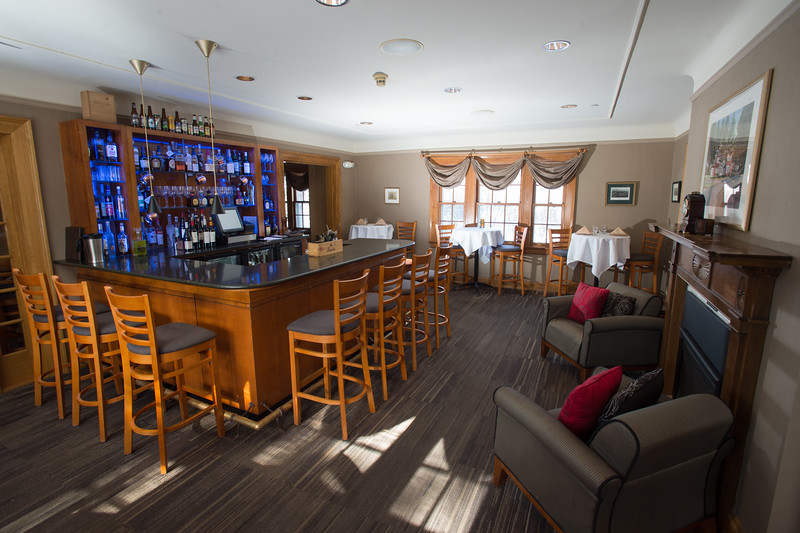 Interiors of Campus House at Buffalo State College.