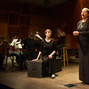 Students performing opera in Music Department class at Buffalo State College.