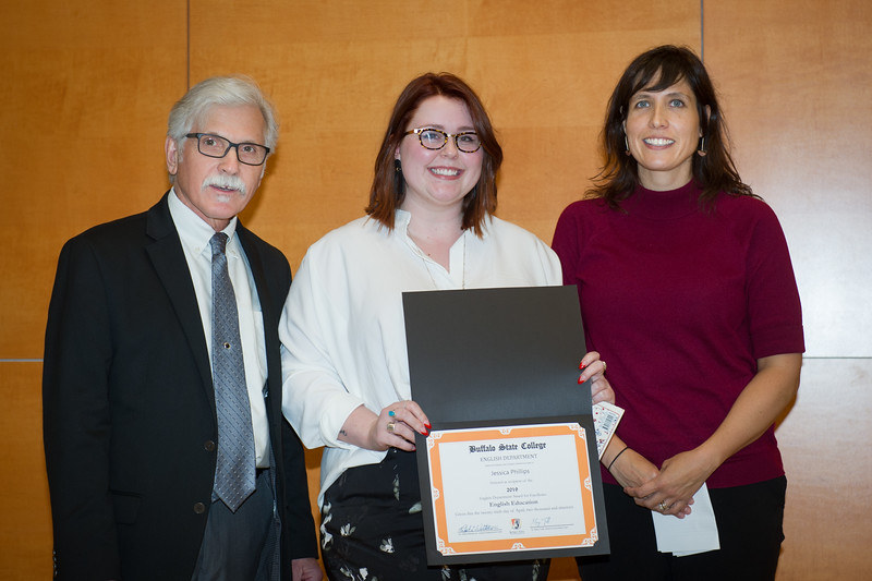 English Department awards ceremony at Buffalo State College.