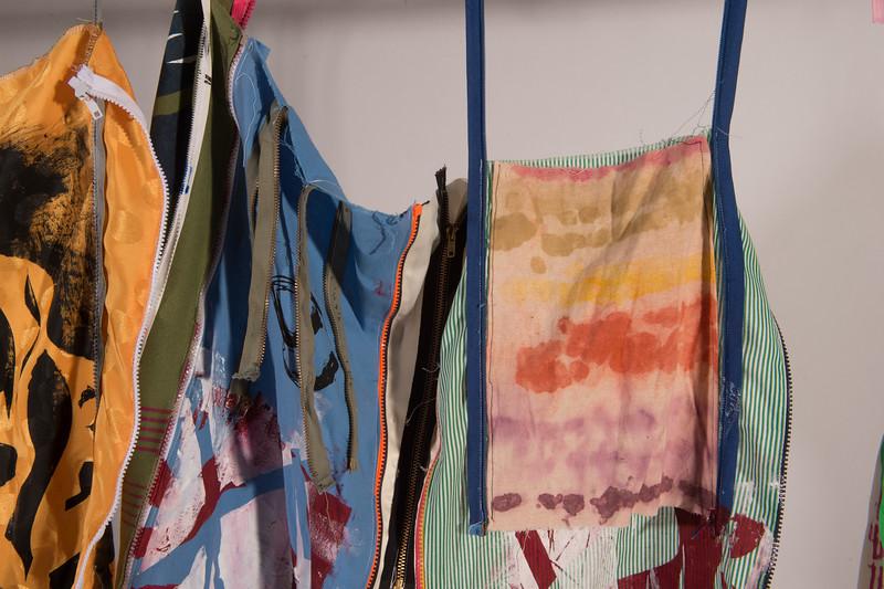 Student work for Professor Jozef Bajus's fiber design class at Buffalo State College.