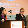Celebration of Community Service awards ceremony at Buffalo State College.