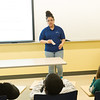 Youth Voices presentation by student Chi Chi Guzman at Buffalo State College.