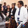 Ms. Jasmine Rand, Esquire speaking with college students at the Networking in Higher Education: Building Bridges for a Better Tomorrow conference hosted by Buffalo State College and the University at Buffalo.