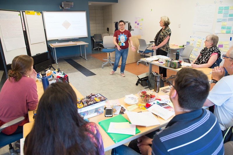 International Center for Studies in Creativity Distance Program Workshop taught by Professor Roger Firestien at Buffalo State College.