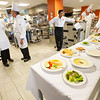 Rich Products chefs using Hospitality and Tourism kitchen for training at Buffalo State College.