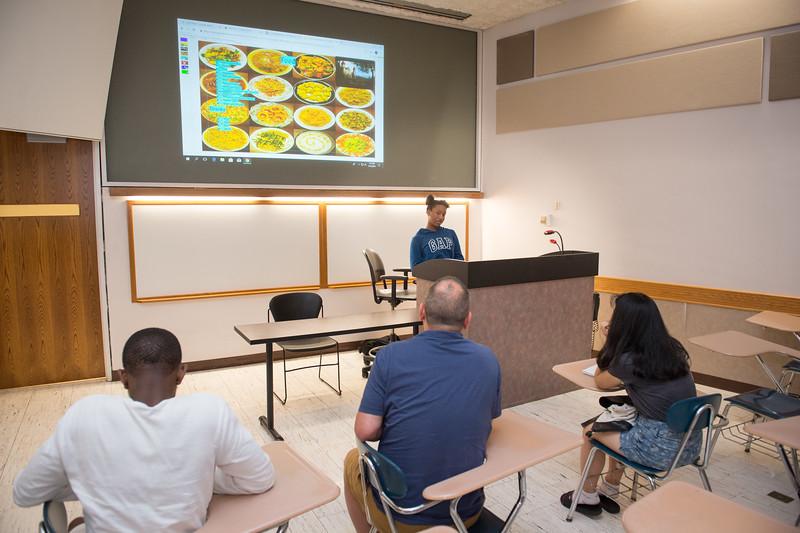 Upward Bound program at Buffalo State College.