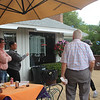 SUNY Buffalo State Kenzie Scholars BBQ held at Ross Kenzie's home.