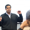 History Professor Steve Peraza teaching at Buffalo State College.